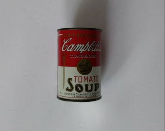 125 anniversary Campbell's soup can bank