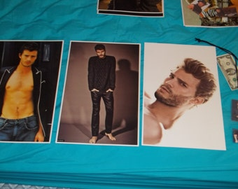 JAMIE DORNAN Christian Grey 50 Shades of Grey Posters Lammy ID Card Must Have! Perfect Gift