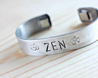 Zen Bracelet, Zen Jewelry, Inspirational Jewelry, Boho Jewelry, Boho Bracelet, Bohemian Jewlery, Bohemian Jewelry, Hippie Jewelry