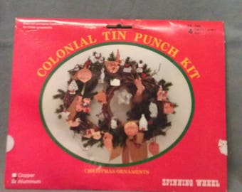 Colonial Tin Punch Kit by Spinning Wheel Kit 4