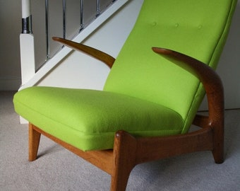 1960s Gimson & Slater Rock 'n' Rest Lounge Chair
