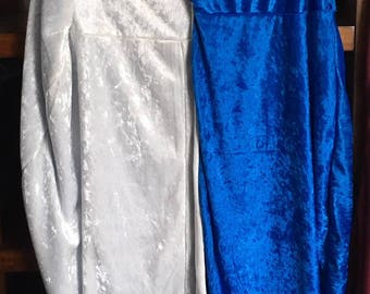 Daenerys' Blue & White Cloak - Game of Thrones Cosplay