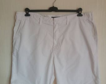 Vintage Tommy Hilfiger White Mens Shorts Size XXLarge