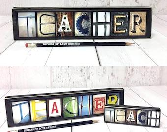 Teacher Gift, Classroom Decor Sign, Teach Wood Sign, Teacher Sign, Gifts for Teachers, Classroom Decoration Art, Back to School Sign Picture
