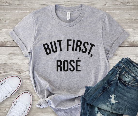 but first rose tee