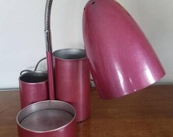 Vintage Goose Neck Bullet Lamp