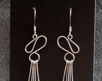 Surgical steel earrings