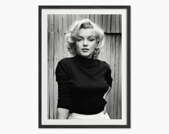 Marilyn Monroe Art Print - Home Decor - Marilyn Monroe Wall Art