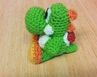 Crochet Yarn Yoshi - Yoshi's Woolly World