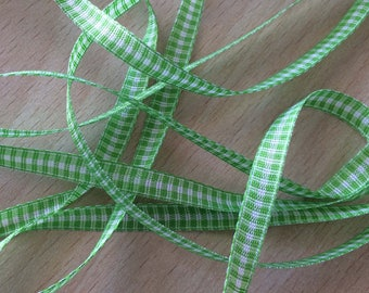 pretty Green Ribbon decorative cotton 603
