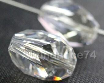 4 pcs Swarovski Elements - Swarovski Crystal 5650 12mm CUBIST - MOONLIGHT