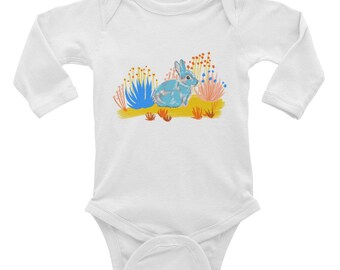 Year of the Rabbit Infant Long Sleeve Bodysuit
