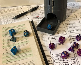 Dungeons & Dragons Dice Tower - Tabletop Gaming D20 DND