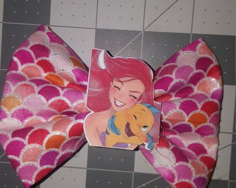Little mermaid pink scales