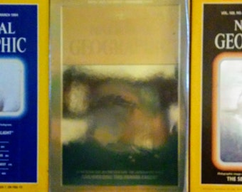 National Geographic Hologram Covers Set of Three