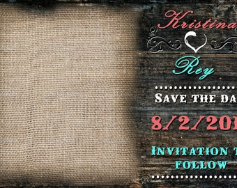Country Save the Date