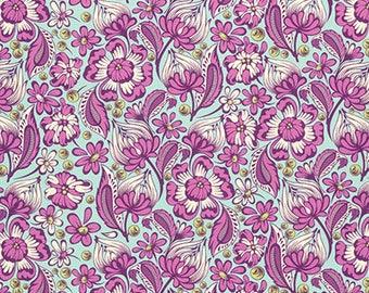 Tula Pink - Chipper - Wild Vines - PWTP079-RASPB