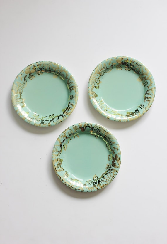 Like this item? : mint green paper plates - pezcame.com