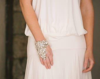 CUSTOM for Lavinia - Astaire Luxury Crystal  Cuff