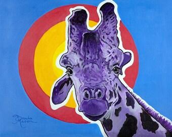 Nairobi the Gentle Giraffe
