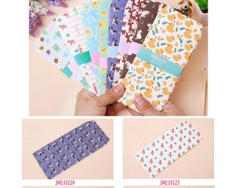 Animals Envelopes Pack of 5