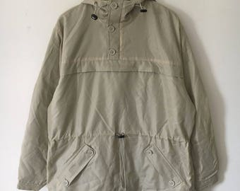 Amazing Calvin Klein quarter zip up windbreaker, size L