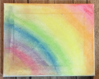 Sunset Chalk Art