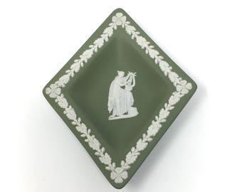 Vintage Wedgwood Diamond Shaped Trinket Dish