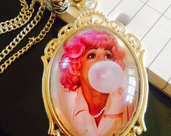 Large Frenchy From The Grease Movie Pendant