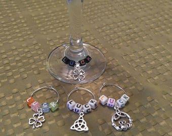 Celtic Wine Charms