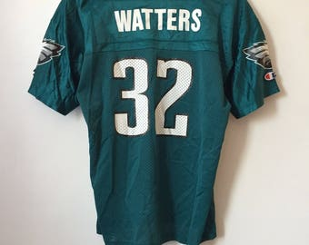 vintage ricky watters philadelphia eagles champion jersey youth size XL 90s