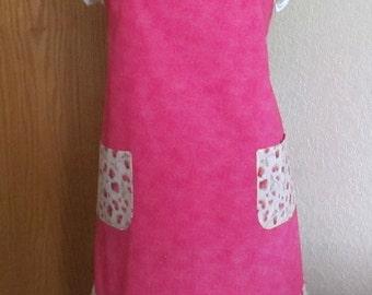 Pink Sweethearts Apron & Oven Mitt