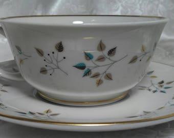 """Princess """"Riveria"""" China Trutone USA (1) Cup & Saucer Set"""