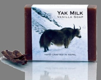 Yak Milk Vanilla Tibetan Organic Fair Trade Soap