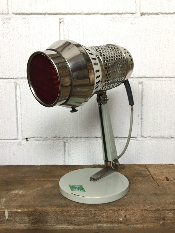 Bauhaus 1970's VEB Grandiosa East German Medical Table Lamp