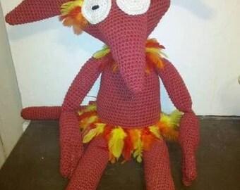 Labyrinth Firey crochet pattern