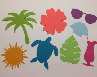 Tropical Theme Cut Shapes