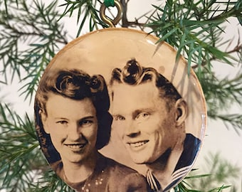 Christmas Ornament Personalized Gift, Christmas Photo  Ornament Gift, Christmas, Birthday Gift, Gift for Him, Gift for Her