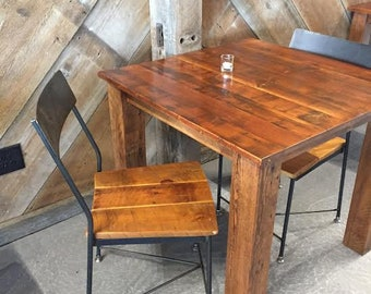 FREE SHIPPING - The Cider House Rustic Industrial Reclaimed Wood Chair and Bar Stools - Great for restaurants, bars and cafes!