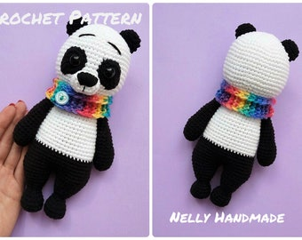 Amigurumi Panda Bear Crochet Pattern : Nelly handmade crochet amigurumi toys and patterns by nellyhm