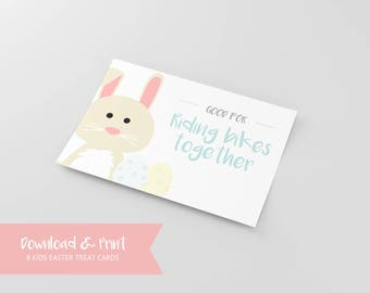 Kid's Easter Printable   Printable Easter Cards   Easter Egg Stuffers   Non-Candy Easter   Baby Shower Gift   Kid's Easter Printables