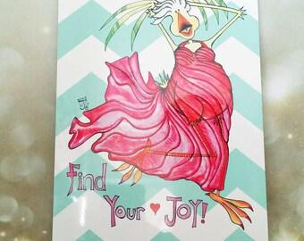 Find Your Joy Metal Sign 8x12