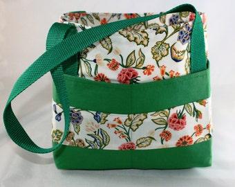 Organizing Bag ~ Green Floral
