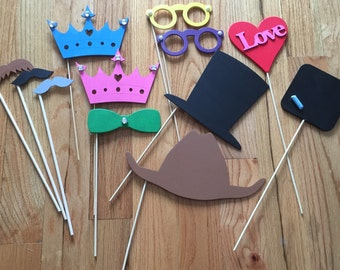 12-Piece Photo Booth Props