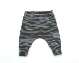 Organic baby clothes Girls pants boys pants Baby leggings toddler pants cotton knit Leggings kids clothes kids pants harem pant