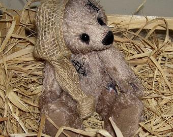 OOAK artist-old style bear... Joy forever... Unique ca. 22cm