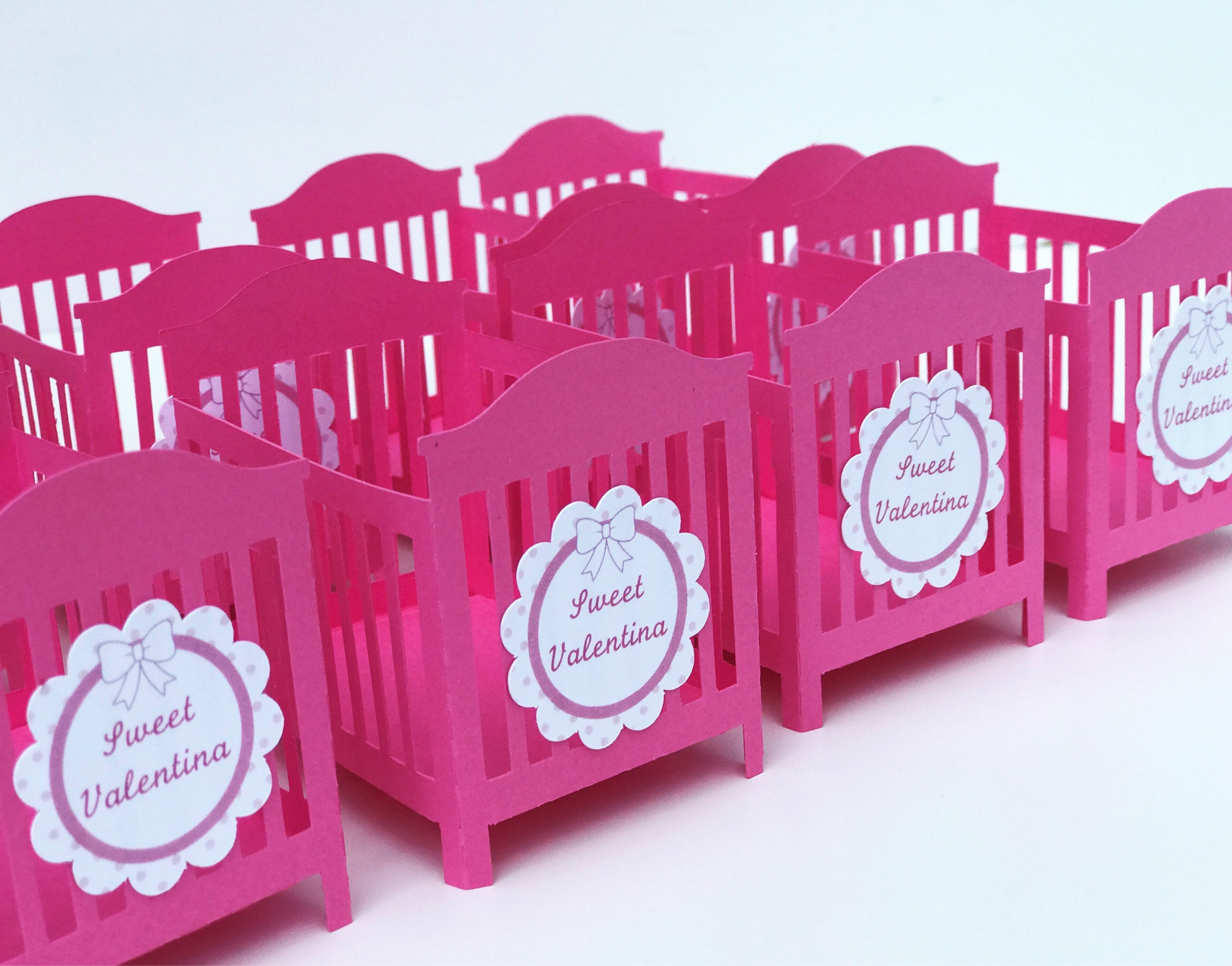 Baby Shower Crib Favor Baby Shower Gift Baby Shower Favors