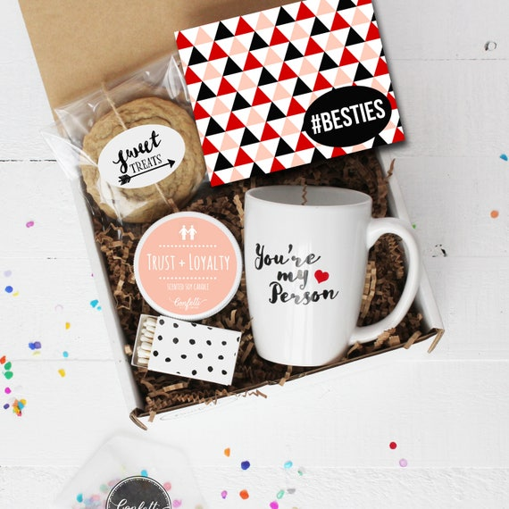 Besties Gift Box Thinking Of You Gift Best Friend Gift