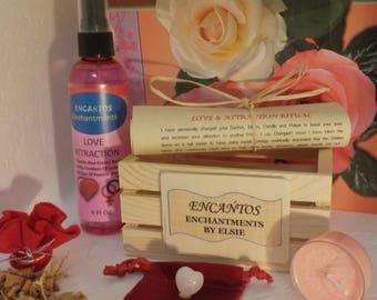 Love & Attraction Ritual Kit