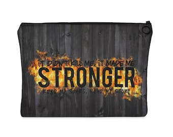 Stronger Carry All Pouch  Flat